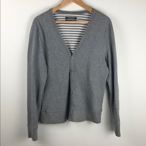 Club Monaco Grey Cardigan Size Medium